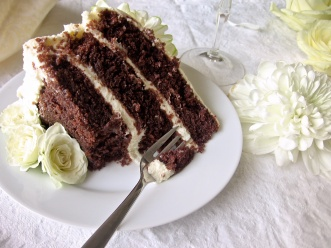 Three layer Red Velvet Cake